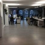 luxe gietvloer kantoor